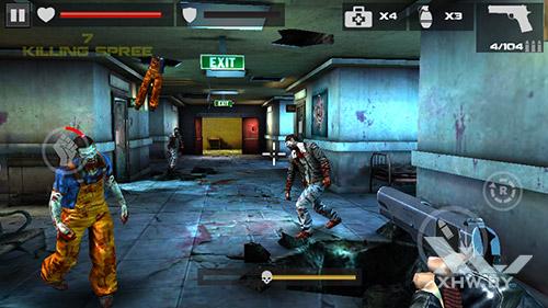 Игра Dead Target на DEXP Ixion ML 4.5