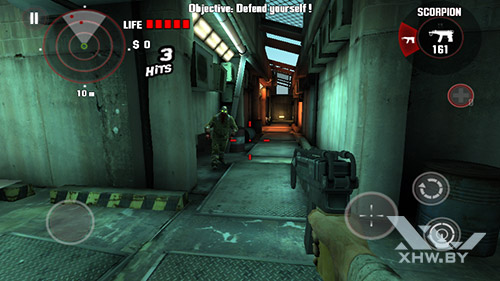 Игра Dead Trigger на DEXP Ixion ML 4.5