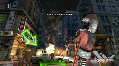 Игра Dead Trigger 2 на DEXP Ixion ML 4.5