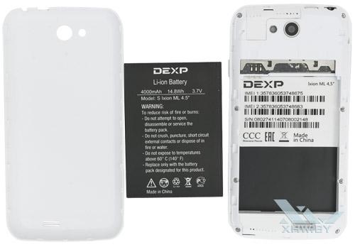 Внутри DEXP Ixion ML 4.5