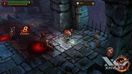 Игра Eternity Warriors 2 на DEXP Ixion ML 4.5