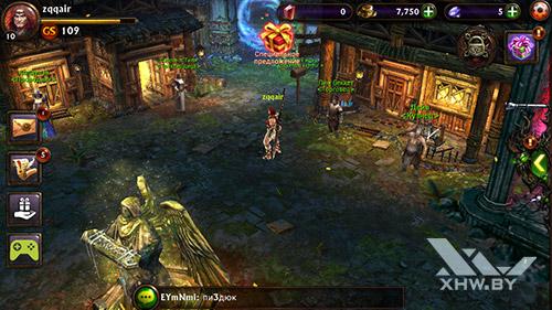 Игра Eternity Warriors 3 на DEXP Ixion ML 4.5