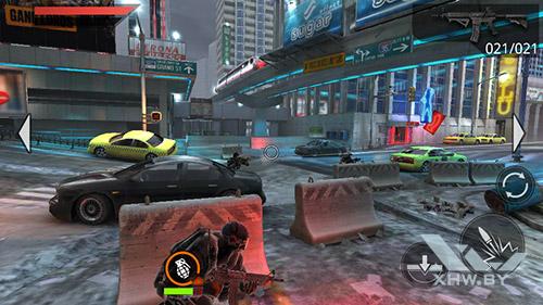 Игра Frontline Commando 2 на DEXP Ixion ML 4.5