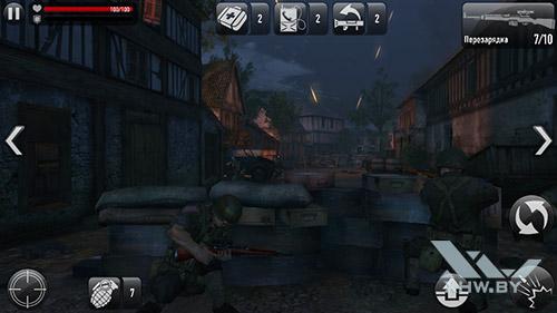 Игра Frontline Commando: Normandy на DEXP Ixion ML 4.5