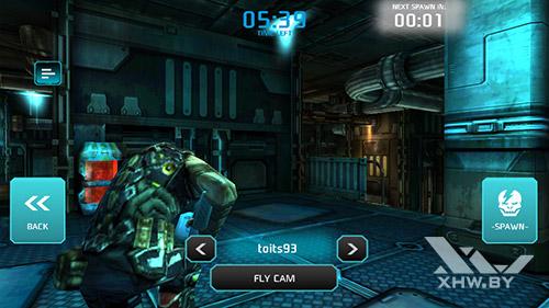 Игра Shadowgun: Dead Zone на DEXP Ixion ML 4.5