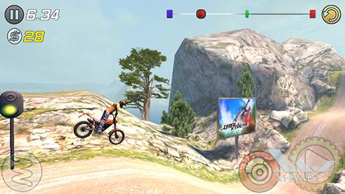 Игра Trial Xtreme 3 на DEXP Ixion ML 4.5