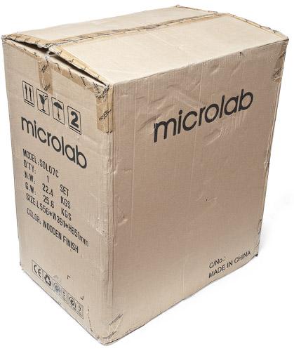 Коробка Microlab Solo 7C