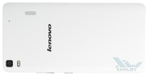 Lenovo A7000. Вид сзади