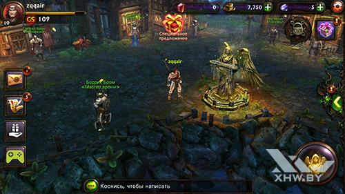 Игра Eternity Warriors 3 на Lenovo A7000