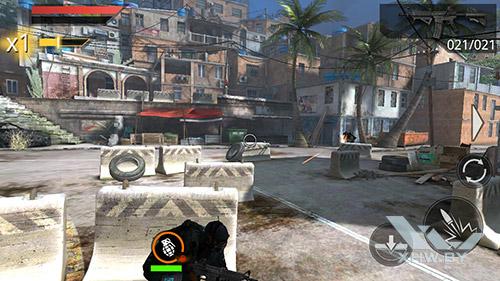 Игра Frontline Commando 2 на Lenovo A7000
