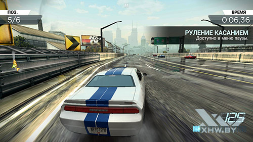 Игра Need For Speed: Most Wanted на Lenovo A7000