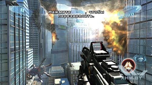 Игра N.O.V.A. 3 на Lenovo A7000