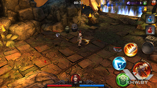 Игра Eternity Warriors 3 на Samsung Galaxy S6 edge+