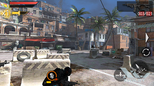 Игра Frontline Commando 2 на Samsung Galaxy S6 edge+