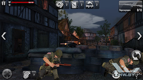 Игра Frontline Commando: Normandy на Samsung Galaxy S6 edge+