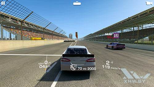 Игра Real Racing 3 на Samsung Galaxy S6 edge+