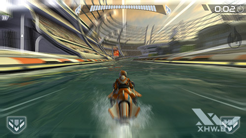 Игра Riptide GP2 на Samsung Galaxy S6 edge+