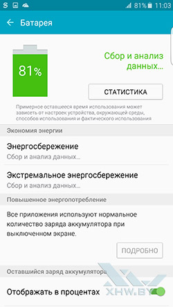 Батарея Samsung Galaxy S6 edge+