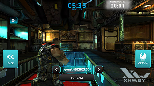 Игра Shadowgun: Dead Zone на Samsung Galaxy S6 edge+