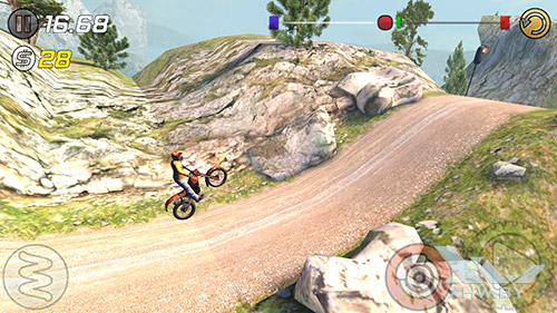 Игра Trial Xtreme 3 на Samsung Galaxy S6 edge+
