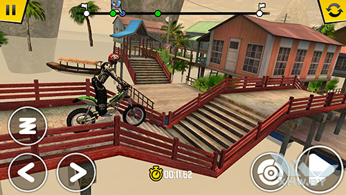 Игра Trial Xtreme 4 на Samsung Galaxy S6 edge+