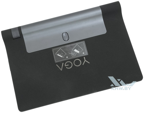 Lenovo Yoga Tab 3 8.0. Вид сзади