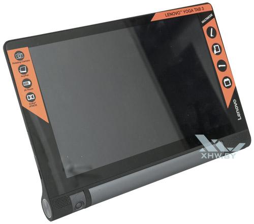 Lenovo Yoga Tab 3 8.0 в вертикальном положении