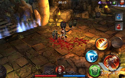 Игра Eternity Warriors 3 на Lenovo Yoga Tab 3 8.0