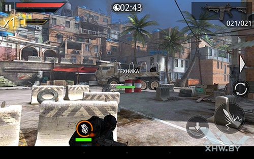 Игра Frontline Commando 2 на Lenovo Yoga Tab 3 8.0