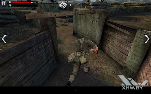 Игра Frontline Commando: Normandy на Lenovo Yoga Tab 3 8.0