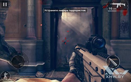 Игра Modern Combat 5 на Lenovo Yoga Tab 3 8.0