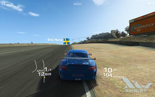 Игра Real Racing 3 на Lenovo Yoga Tab 3 8.0