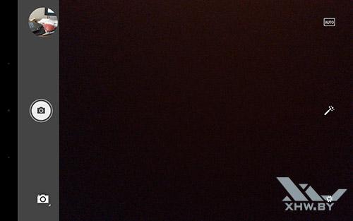 Интерфейс камеры Lenovo Yoga Tab 3 8.0