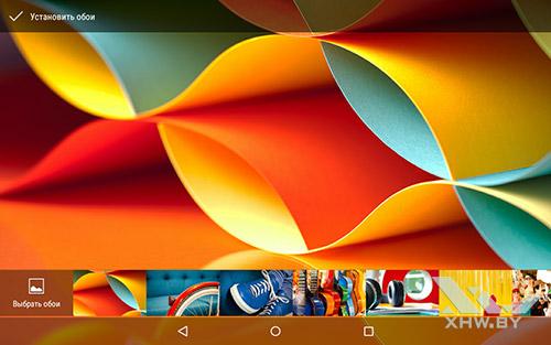 Установка обоев на Lenovo Yoga Tab 3 8.0