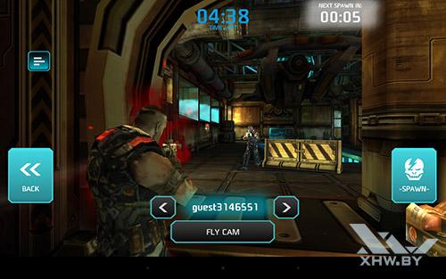 Игра Shadowgun: Dead Zone на Lenovo Yoga Tab 3 8.0