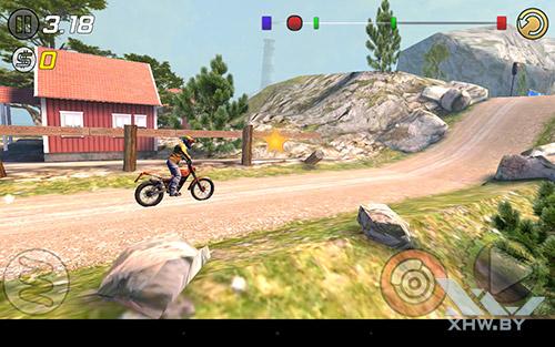 Игра Trial Xtreme 3 на Lenovo Yoga Tab 3 8.0
