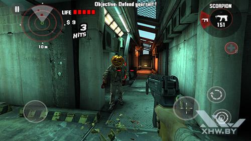 Игра Dead Trigger на Lenovo Phab Plus