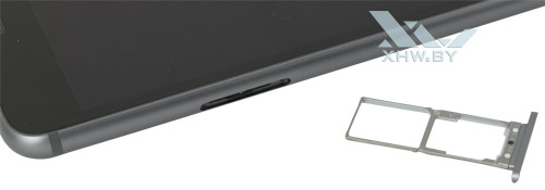 Отсек для SIM-карт на Lenovo Phab Plus