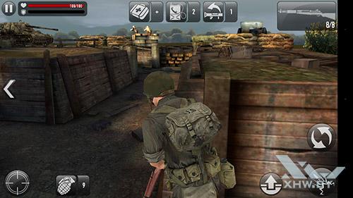 Игра Frontline Commando: Normandy на Lenovo Phab Plus