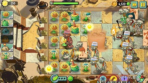 Игра Plants vs Zombies 2 на Lenovo Phab Plus