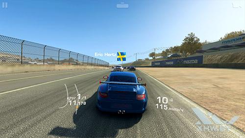 Игра Real Racing 3 на Lenovo Phab Plus