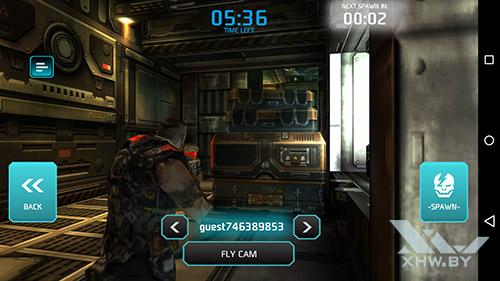 Игра Shadowgun: Dead Zone на Lenovo Phab Plus