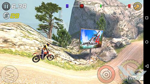 Игра Trial Xtreme 3 на Lenovo Phab Plus