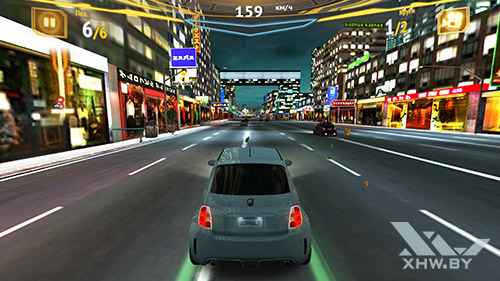 Игра Asphalt 7 на Samsung Galaxy Note 5