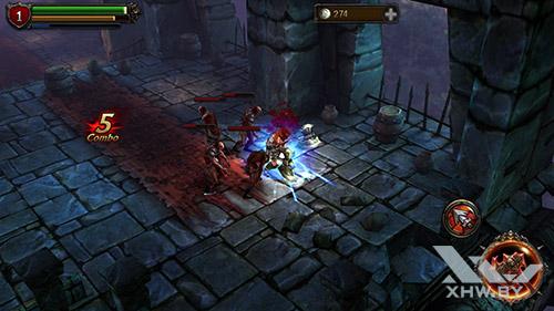 Игра Eternity Warriors 2 на Samsung Galaxy Note 5