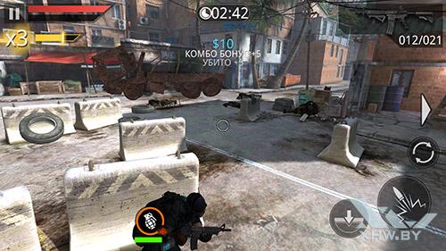 Игра Frontline Commando 2 на Samsung Galaxy Note 5