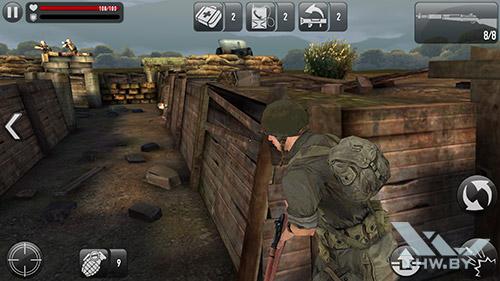 Игра Frontline Commando: Normandy на Samsung Galaxy Note 5