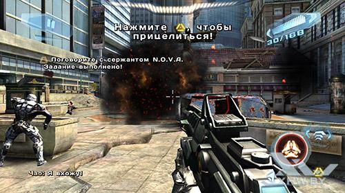 Игра N.O.V.A. 3 на Samsung Galaxy Note 5