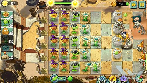 Игра Plants vs Zombies 2 на Samsung Galaxy Note 5