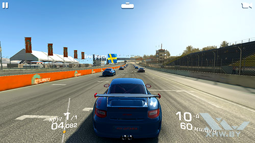 Игра Real Racing 3 на Samsung Galaxy Note 5